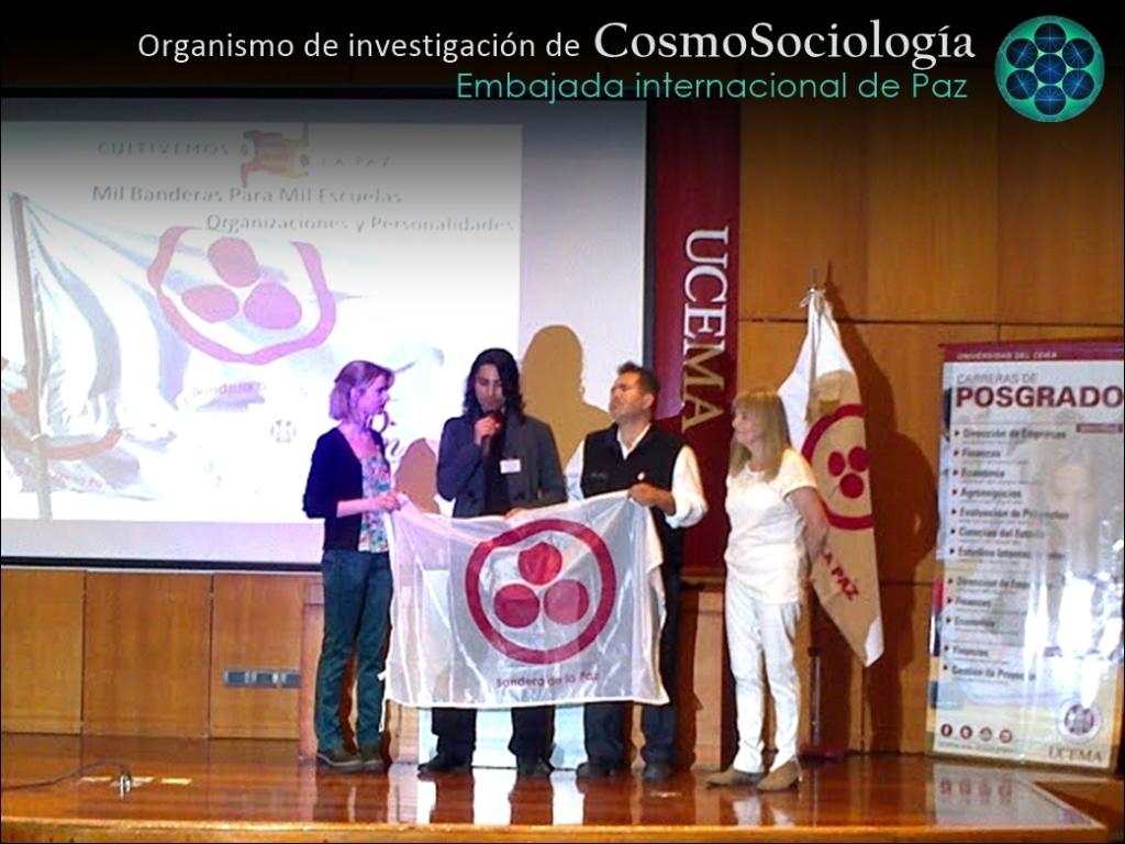 Cosmosociologia, embajada de paz
