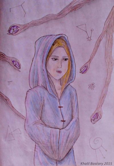 Dama de azul, Khalil Bascary