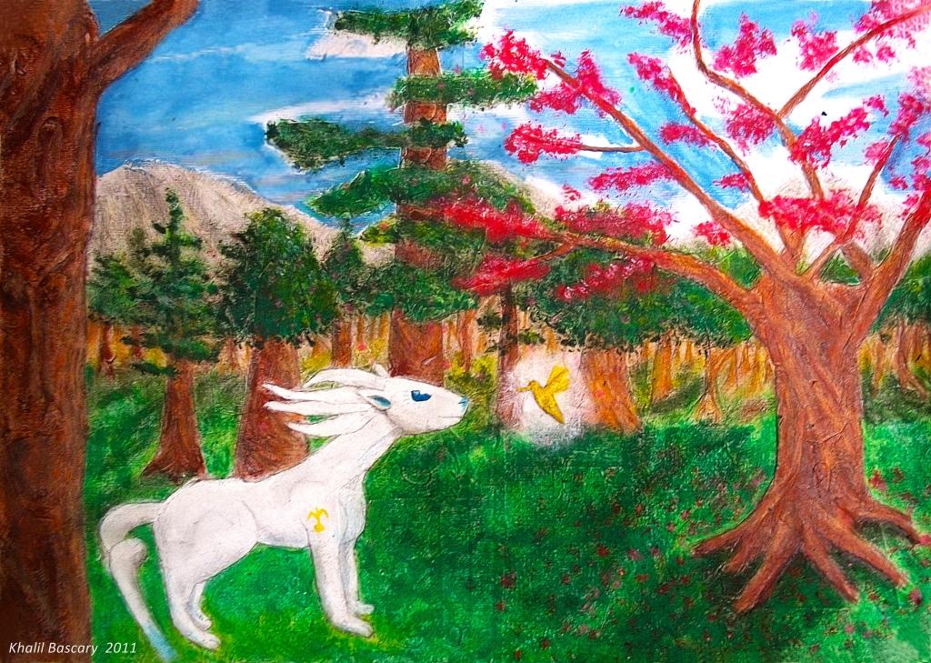 El encuentro en el bosque, Khalil