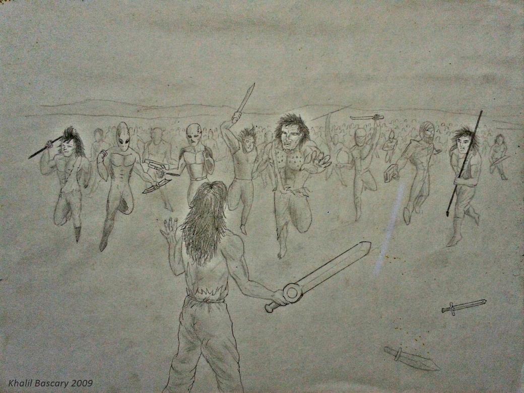 Las guerras de Orión, Khalil Bascary